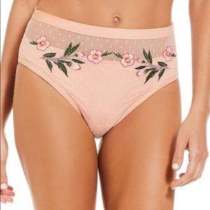 Gianni Bini sz L high waist swim bikini bottoms